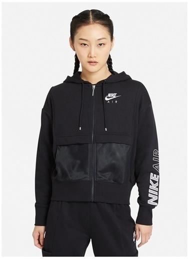 Nike Nike Siyah Zip Ceket Siyah